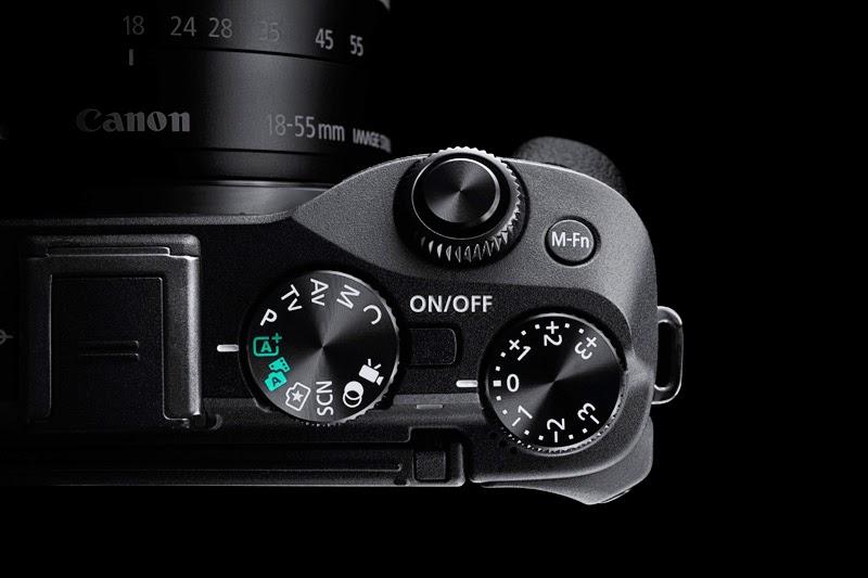 Dettaglio della Canon EOS M3