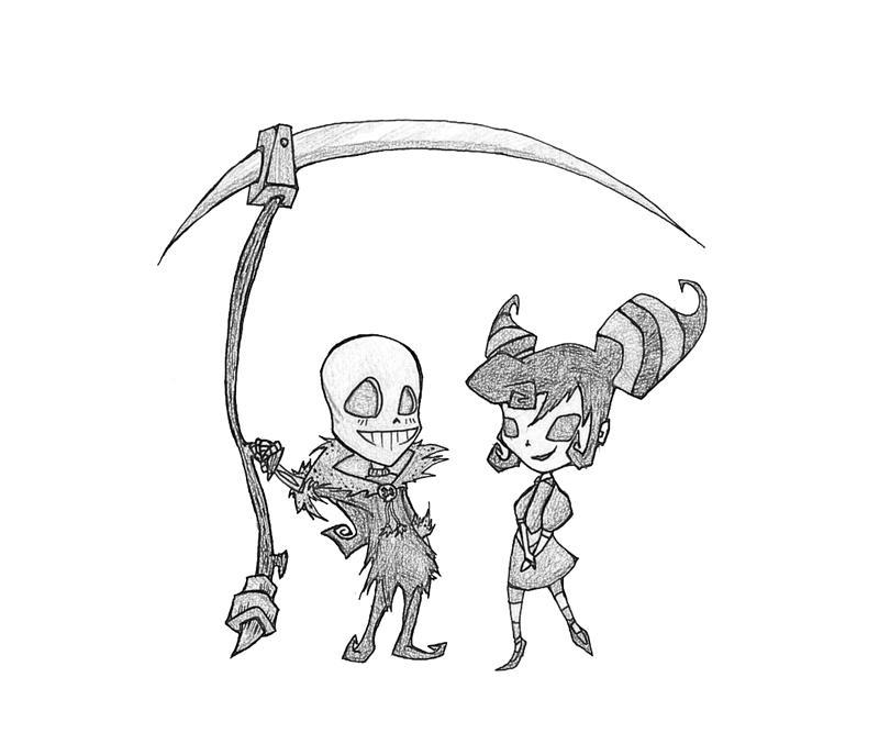 death-jr-death-jr-cute-coloring-pages