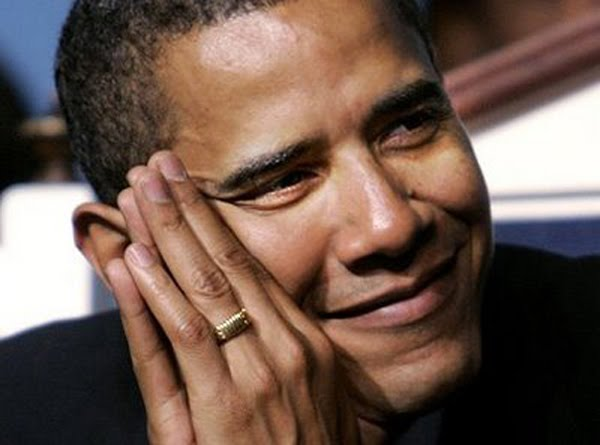 Barack Obama with Funny Faces