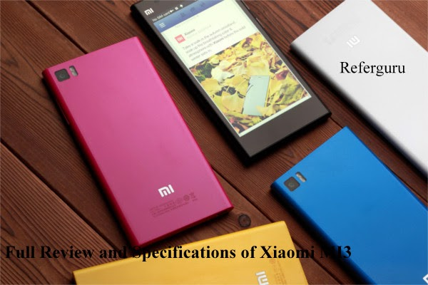 Xiaomi  MI3 Priced Rs.13999 On Flipkart - Full Review and Specifications of Xiaomi MI3