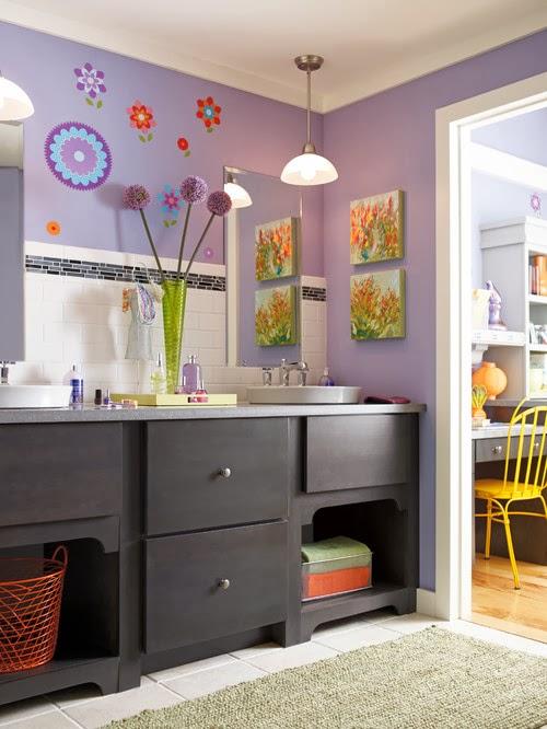 Baño Ninos Decoracion:Decoración de baños para niños – Colores en Casa