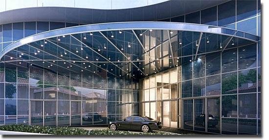 Edifício Tour Odéon em Mônaco - Apartamento mais caro do mundo - Entrada principal