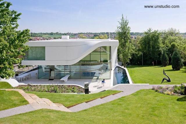 Casa moderna estilo Contemporáneo en Stuttgart, Alemania