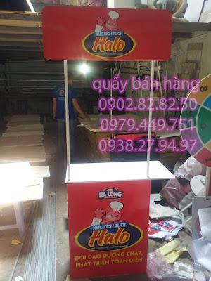 quầy bán hàng lưu động HALO