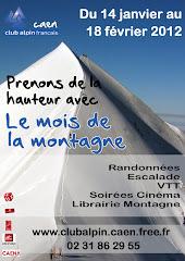 Le mois de la montagne du 14 janvier au 18 février 2012 organisé par le club Alpin: