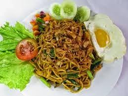 Mie Goreng Sayuran yang Oriental