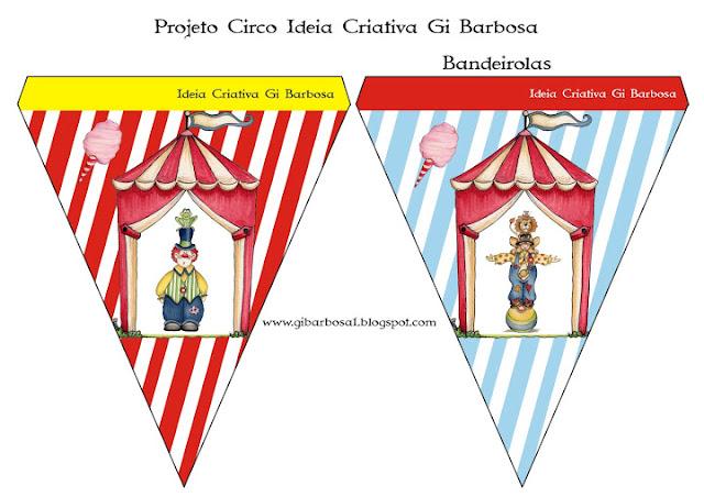 Projeto Circo Bandeirolas Ideia Criativa