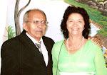 Nosso Pastor Norman Monteiro da Silva e sua esposa Ministra Maria de Lourdes.