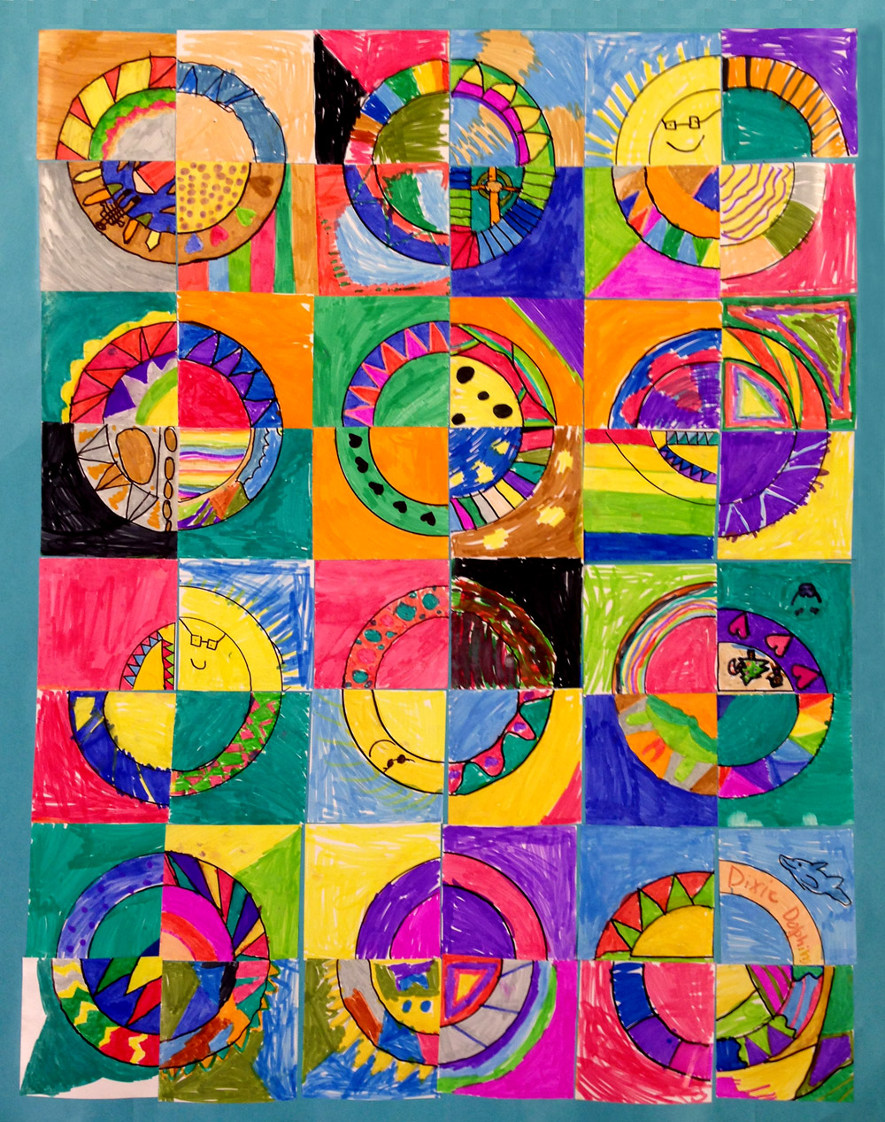 Paper quilts art projects for kids for Paper art projects