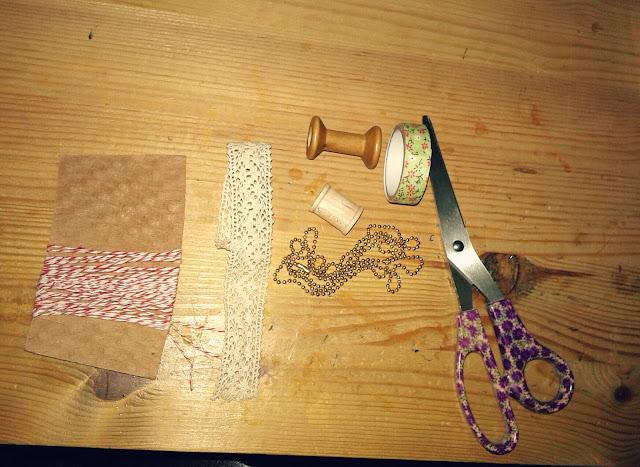 diy spool necklace