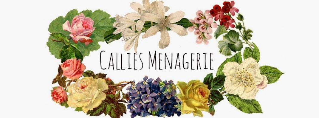Callies Menagerie