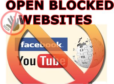 Open-Blocked-Websites
