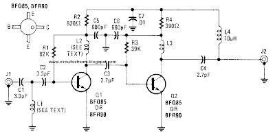 Uhf Antenna: Uhf Antenna Booster Circuit Diagram