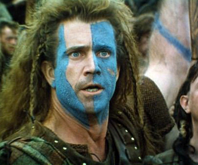 Face War Paint Designs http://newkidonthewritersblock.blogspot.com/2011/11/did-scots-wear-war-paint-when-in-battle.html