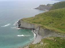 El litoral,  flish y rasa mareal