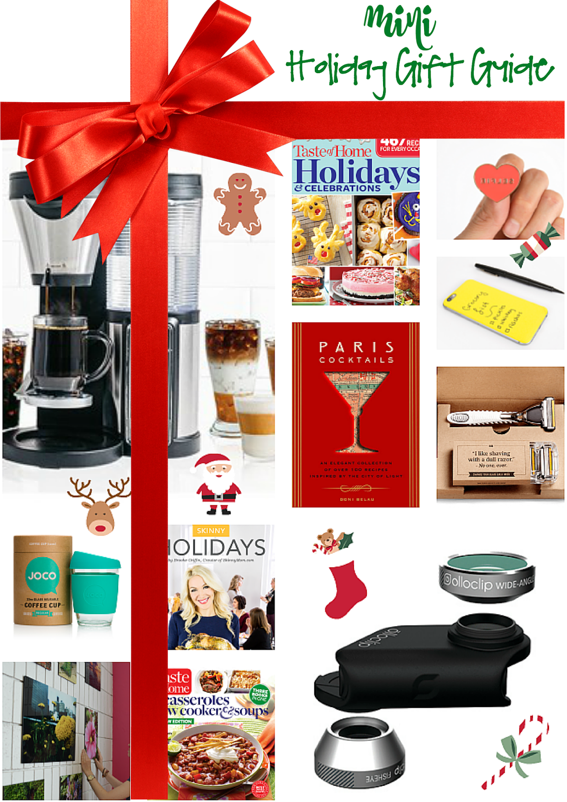 Holiday Gift Guide 2015 - mini guide for him and her! All of my favorites for the upcoming Christmas holiday season.
