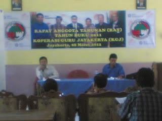 RAT Koperasi Guru Jayakerta 2012, SD Negeri Kampungsawah IV - Karawang