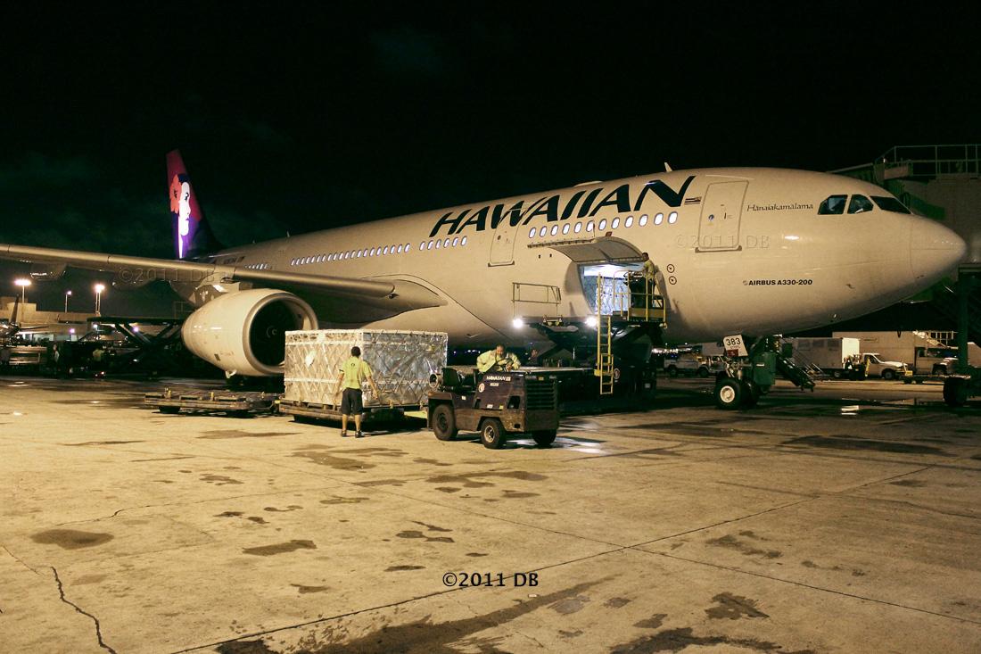 Hawaiian Air's fourth A330 243, N383HA (msn 1217), is making its