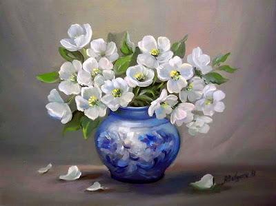 pintura-al-oleo-flores