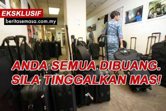 Malaysia Airlines MAS Buang 6 000 Pekerja 30 Selepas Rugi RM3 Juta Sehari