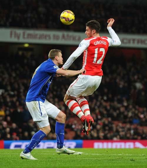 Arsenal vs. Leicester City 2-1 Highlight Goal Premier League 10-02-2015