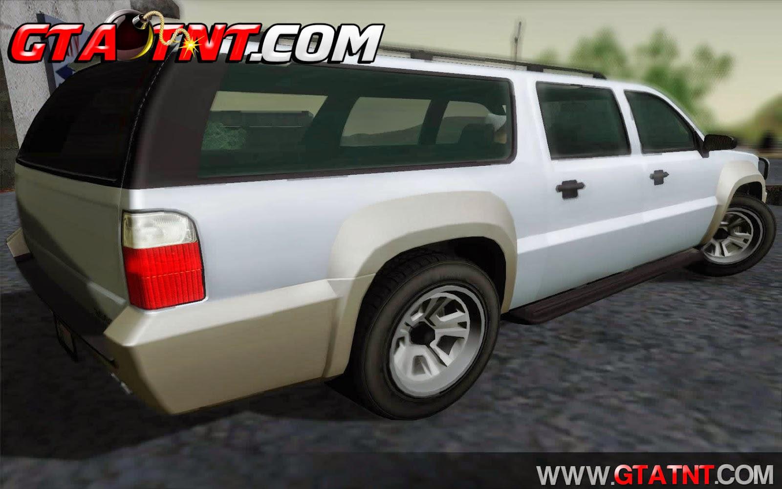 Granger Convertido do GTA V para GTA San Andreas