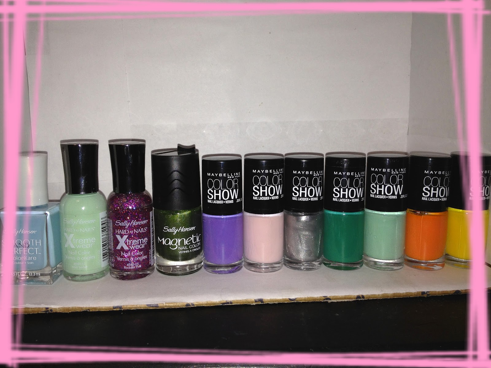 Maybelline Nail Polish Walmart - Creative Touch
