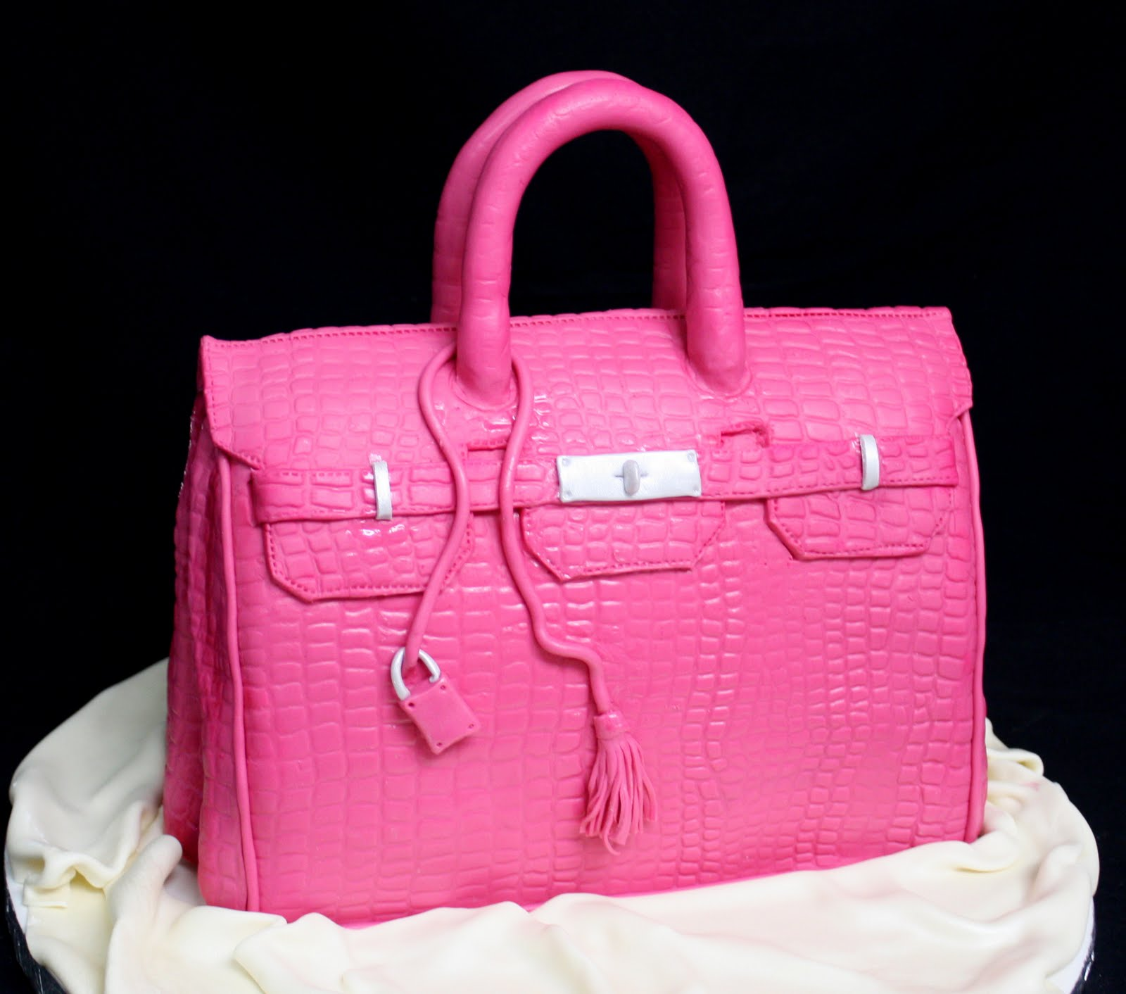 hermes bag cake tutorial