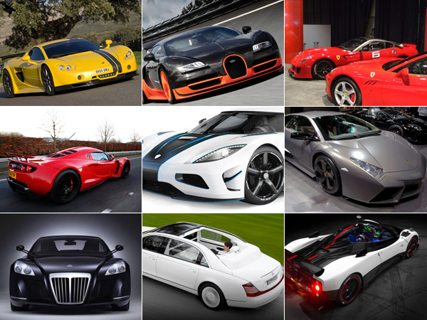 Top 10 Luxurious Cars to buy in 2013