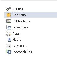 Security In Facebook