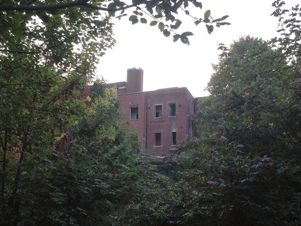 Abandoned hospital, Putney, London SW15