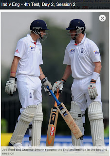 Joe-Root-Graeme-Swann-IND-V-ENG-4th-TEST-DAY-2