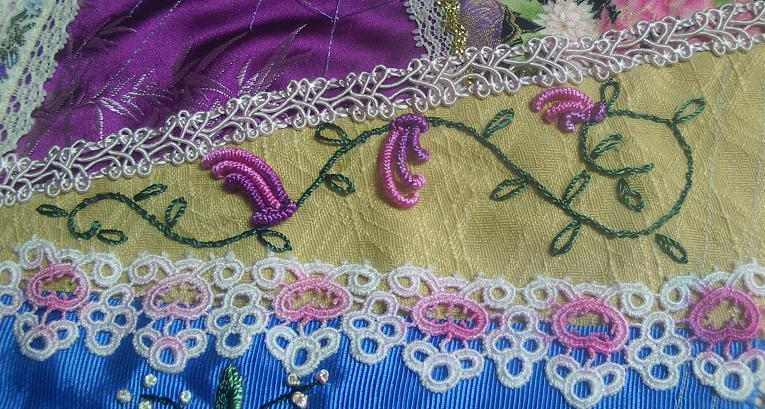 Brazilian Embroidery Tutorials http://www.shawkl.com/2011/05/more-brazilian-embroidery.html