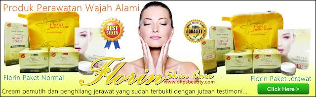 Jual Florin SKin Care - Cream Pemutih Wajah dan Penghilang Jerawat Alami Aman dan Terbukti 2016