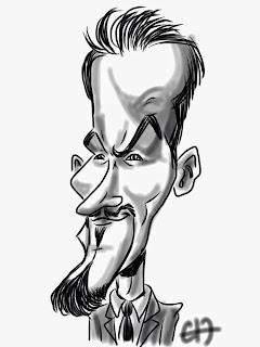 Animation caricatures sur iPad, pour Timcod à Nantes ©Guillaume Néel