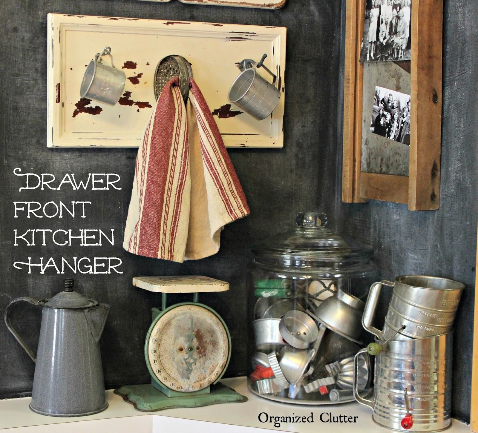 Decorating with Thrift Shop Utensils www.organizedclutter.net