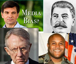 Dorner, Reid, Stalin, Stephanopoulos, Hitler, Obama, The Left