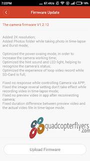 Xiaomi Yi Camera Firmware V1.2.12