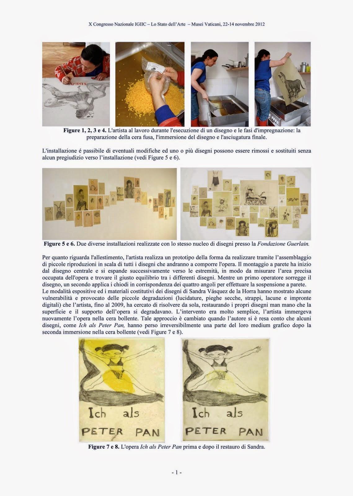 Il disegno contemporaneo senza cornice: le problematiche conservative dei disegni su carta.