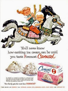 Carousel ice cream