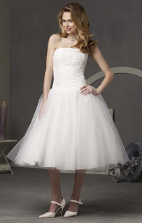 Kurze Brautkleider - short wedding dresses