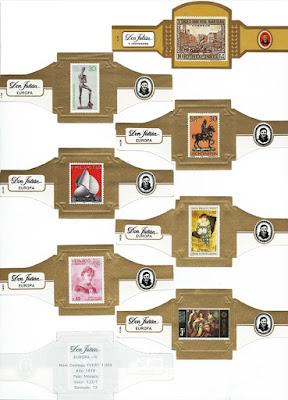 Vitolas con imágenes de sellos