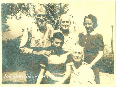 Jack Coleman, Mattie Coleman Escue, Reba Coleman Morris, Jimmy Morris, Emma Jollett Coleman