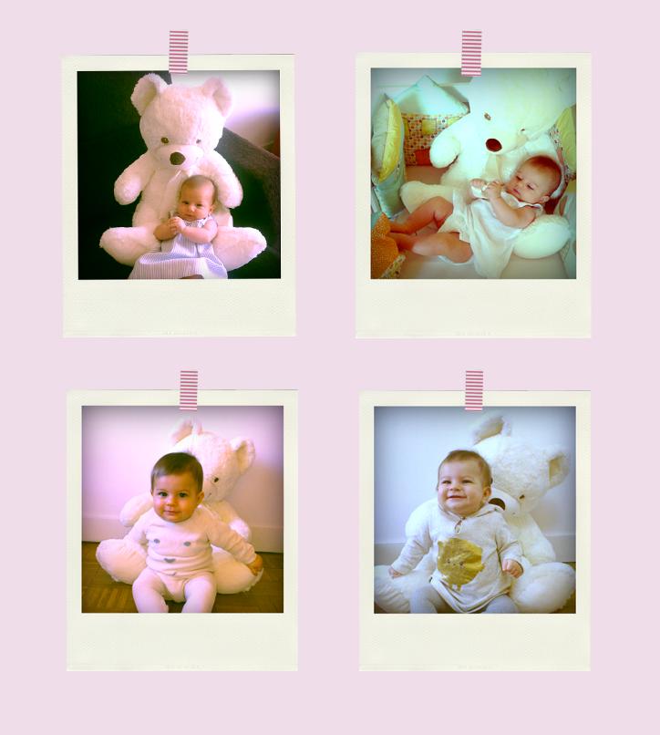 fotos-evolucion-de-un-bebe-Claudia-hansel-y-greta