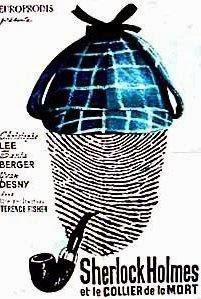Portada película Sherlock Holmes y el collar de la muerte