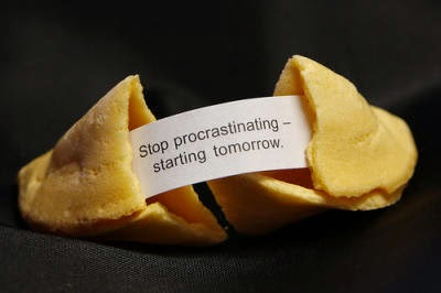 Stop procratinating, starting tomorrow