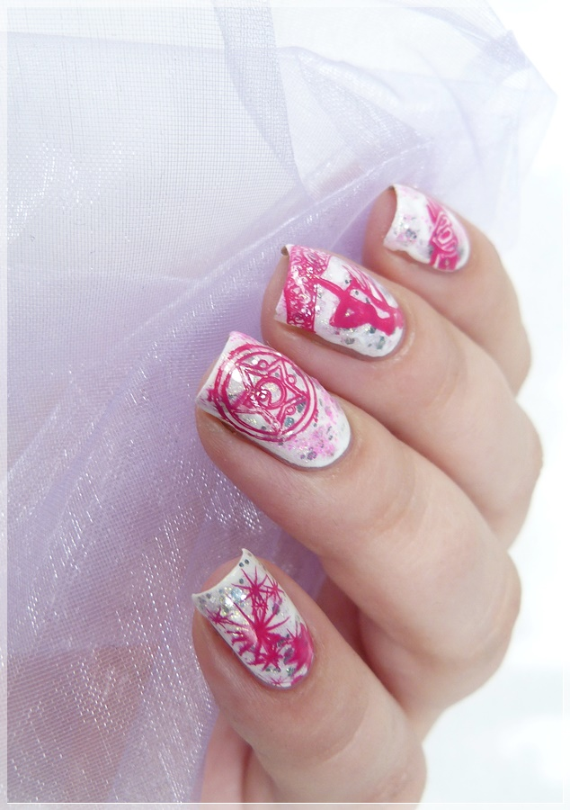 Sailor Moon Nageldesign