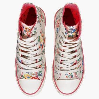 blommig sneaker från Cath kidston