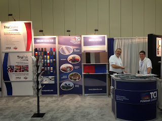 TCI Powder Coatings at the 2015 Powder Coating Show