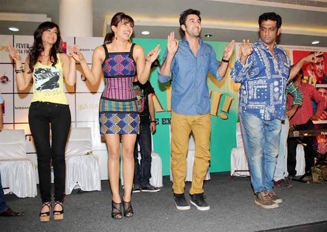 ileana priyanka chopra promotes bafri city Mall